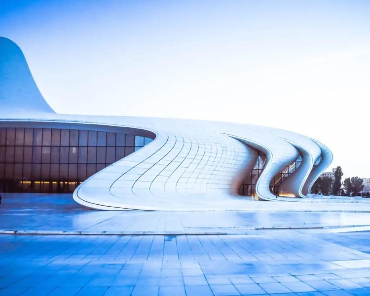 Azerbaijan - Baku - Heydar Aliyev Center