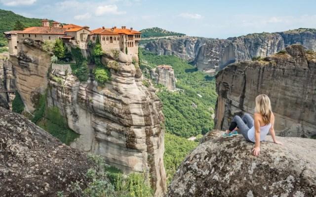 Varlaam Monastery in Meteora in Greece