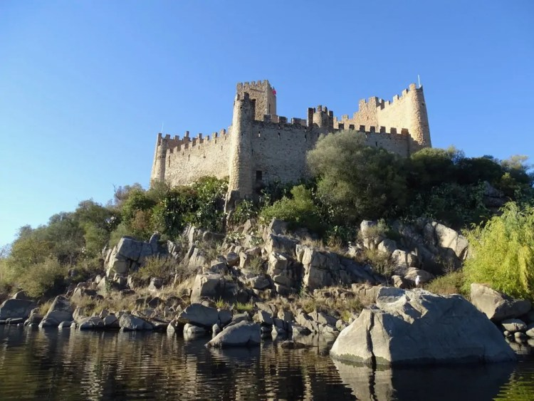 Almourol Castle. Photo by Elena Tchijov. Reused with Permission.