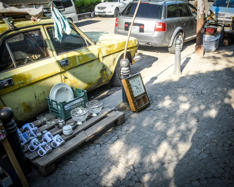Georgia - Tbilisi - Dry Bridge Market
