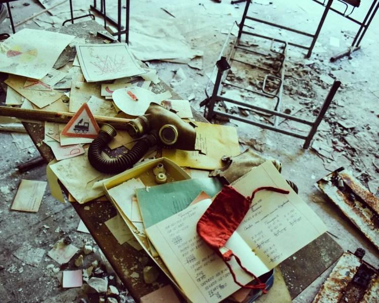 Ukraine - Chernobyl - School