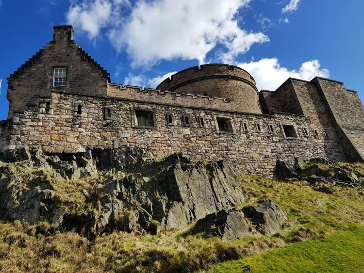 Edinburgh Castle. Photo by Susanne Arbuckle. Reused with Permission.