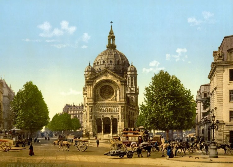 Saint Augustin Church in the 8th arrondissement.
