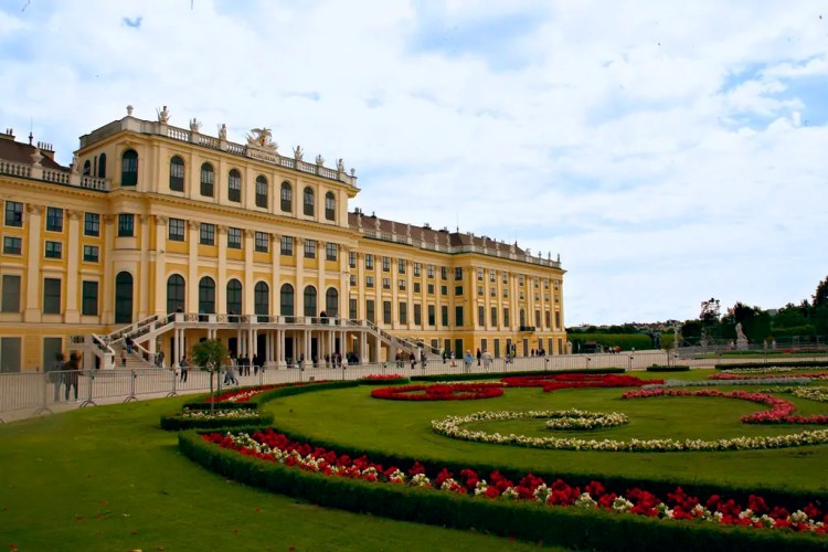 Schoenbrunn Palace. Photo by Marie Gizelle. Reused with Permission.