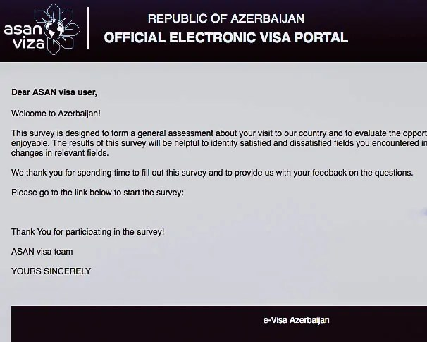 Azerbaijan - eVisa