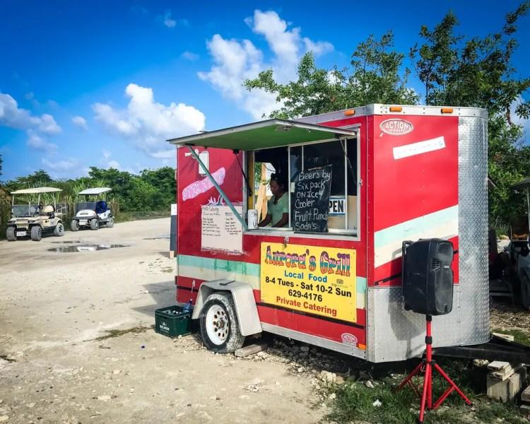The Food Truck at Secret Beach