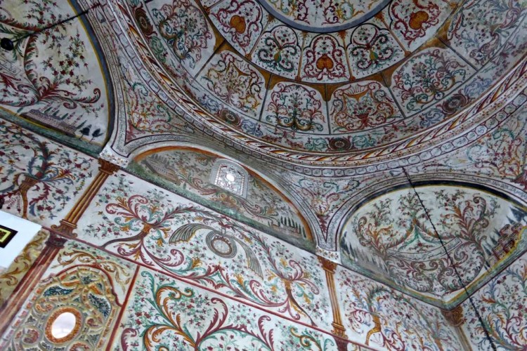 Interior Et'hem Bey Mosque. Photo by Stacey from One Trip at a Time. Reused with Permission.