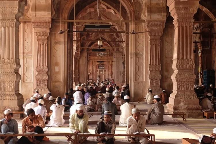 Taj ul Masjid Bhopal. Image by Kathleen Poon. Reused with Permission.