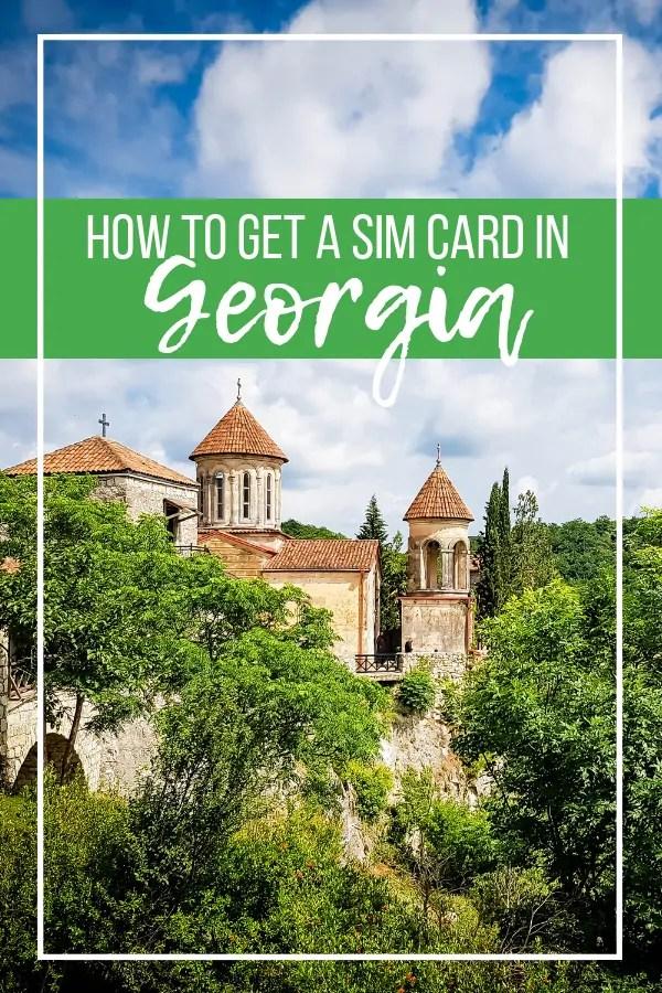How to Get a Georgia Sim Card