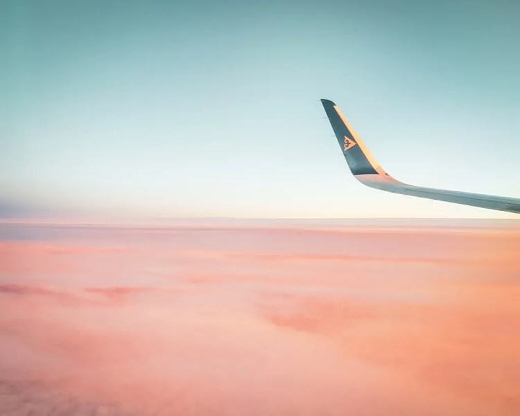 The Kazakh skies put on a farewell display as I flew from Almaty to Istanbul