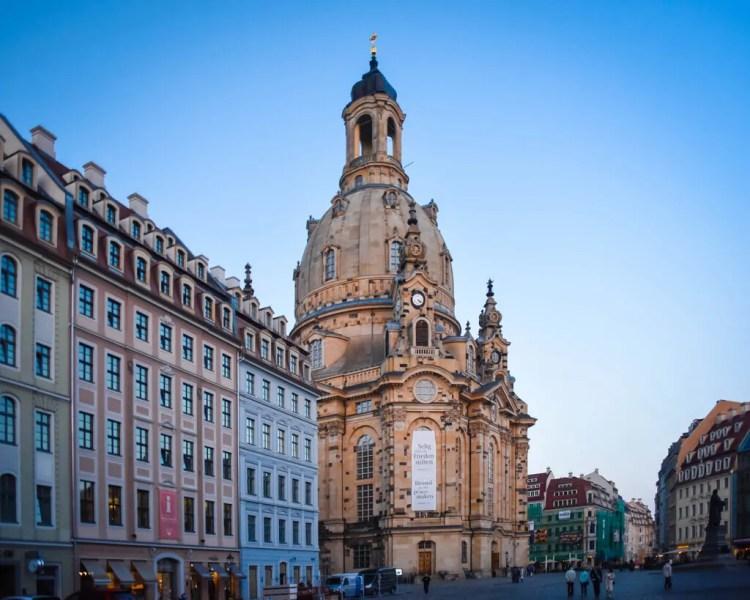 Germany - Dresden - Frauenkirche