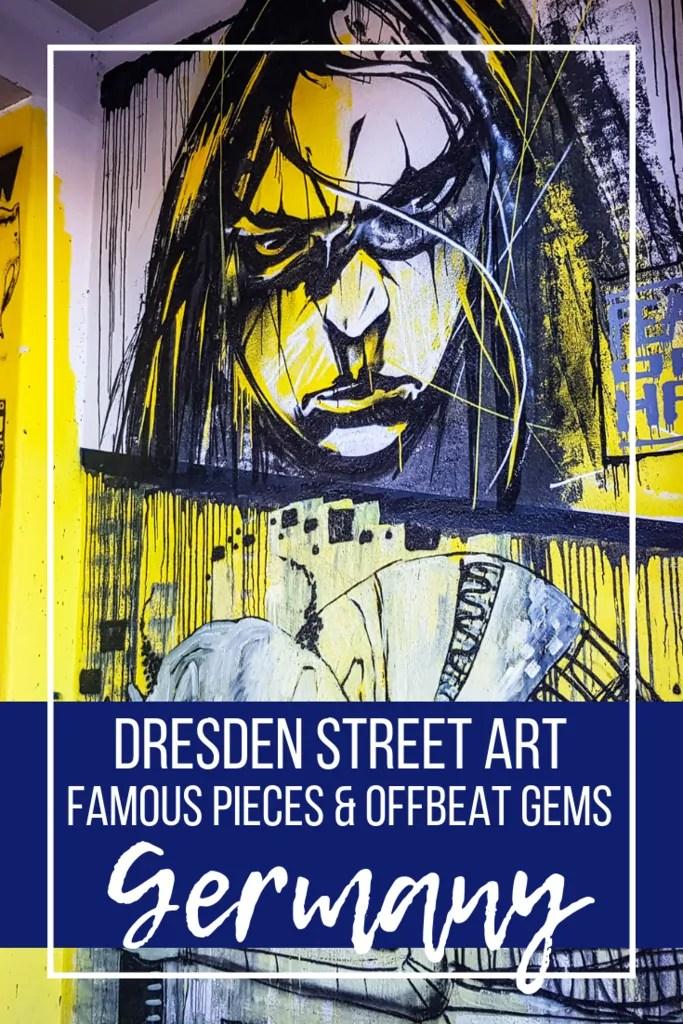 Dresden Street Art: Famous Pieces and Offbeat Gems