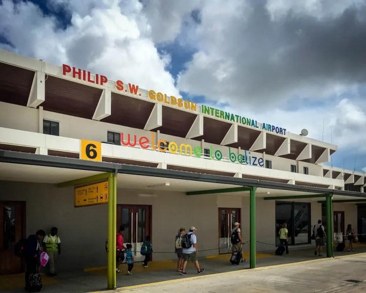 Belize - Belize City - Airport