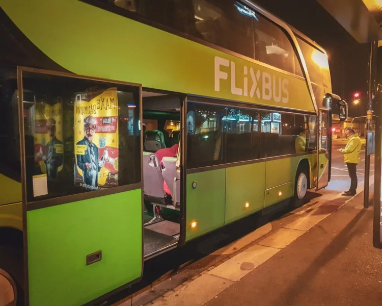 Germany - Dresden - Flix Bus