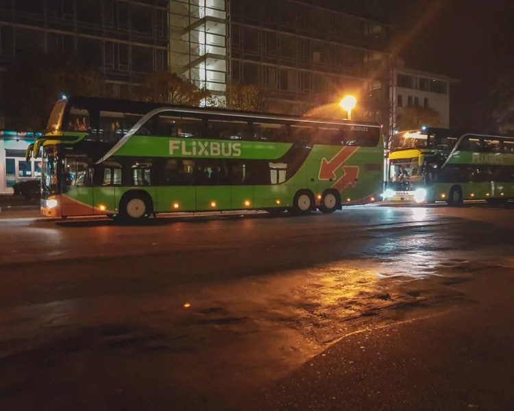 Germany - Dresden - Flix Bus Drop Off