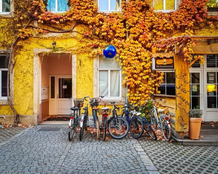 Germany - Dresden Neustadt - Autumn Courtyard