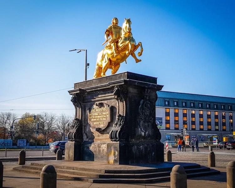 Germany - Dresden Neustadt - Golden Rider