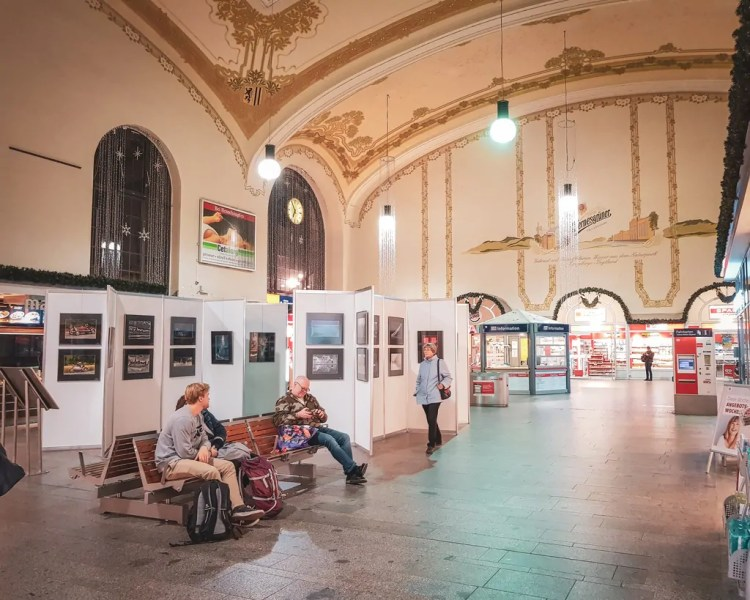 Germany - Dresden - Neustadt Bahnhof
