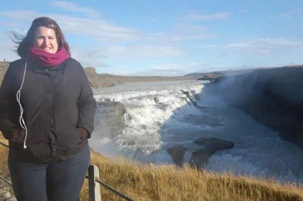Iceland - Gullfoss Stephanie