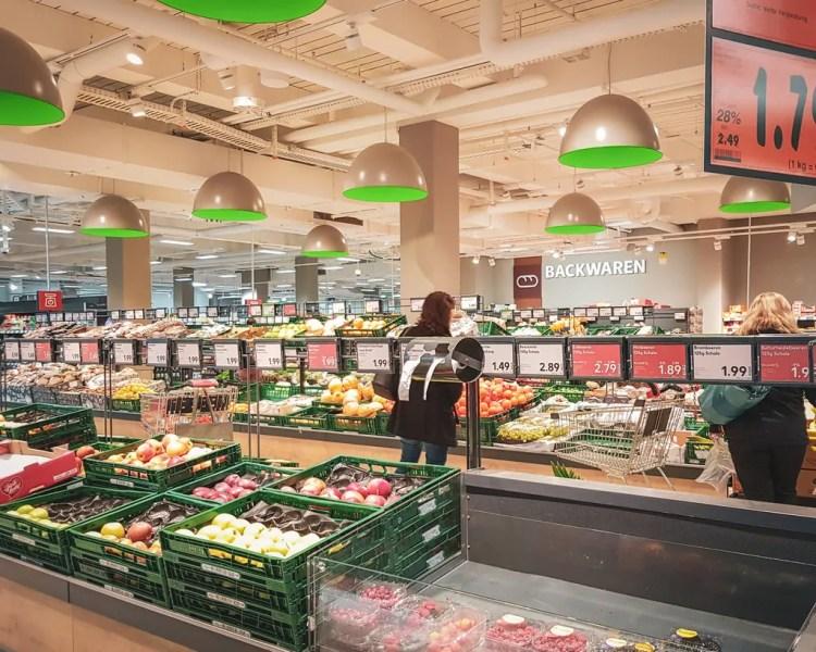 Germany - Berlin - Grocery Store
