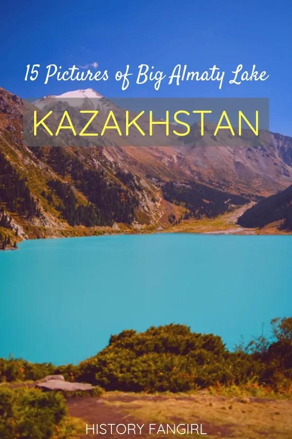 Big Almaty Lake: 15 Pictures of Kazakhstan's Stunning Turquoise Jewel