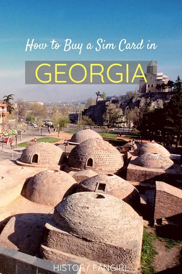 How to Buy a Sim Card in Georgia