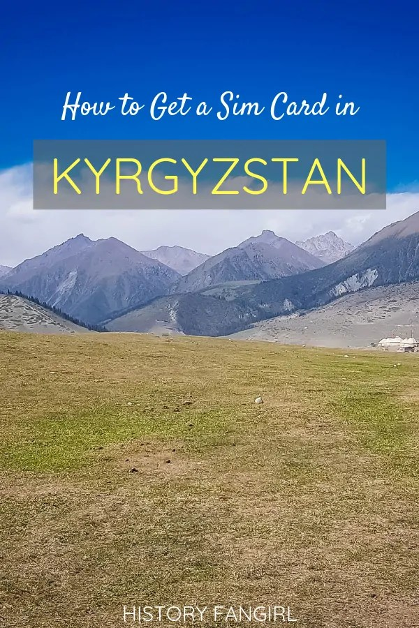 How to Get a Kyrgyzstan Sim Card