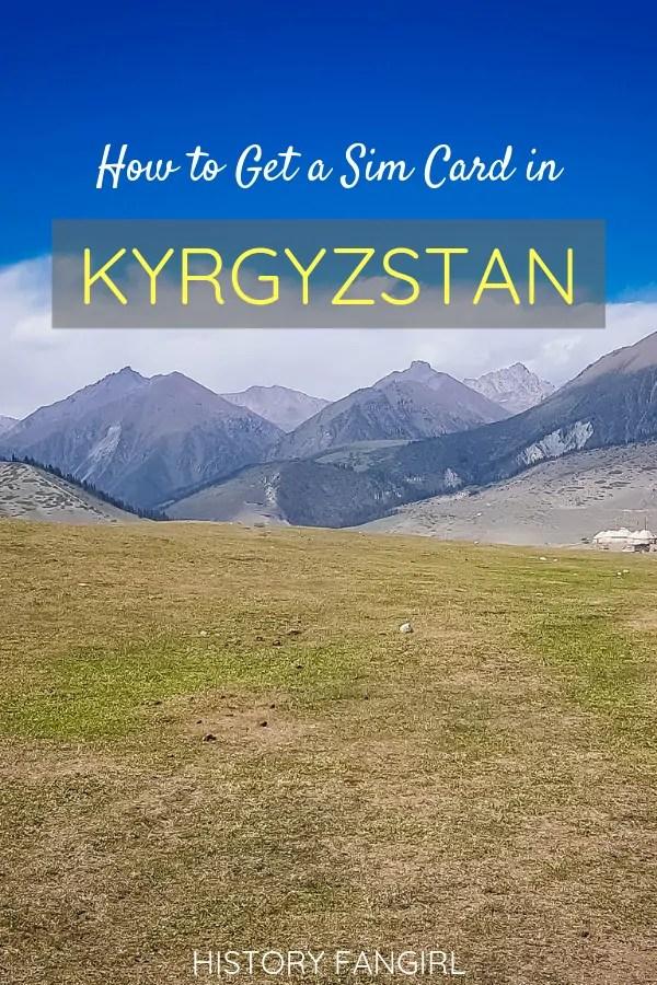 How to Get a Kyrgyzstan Sim Card
