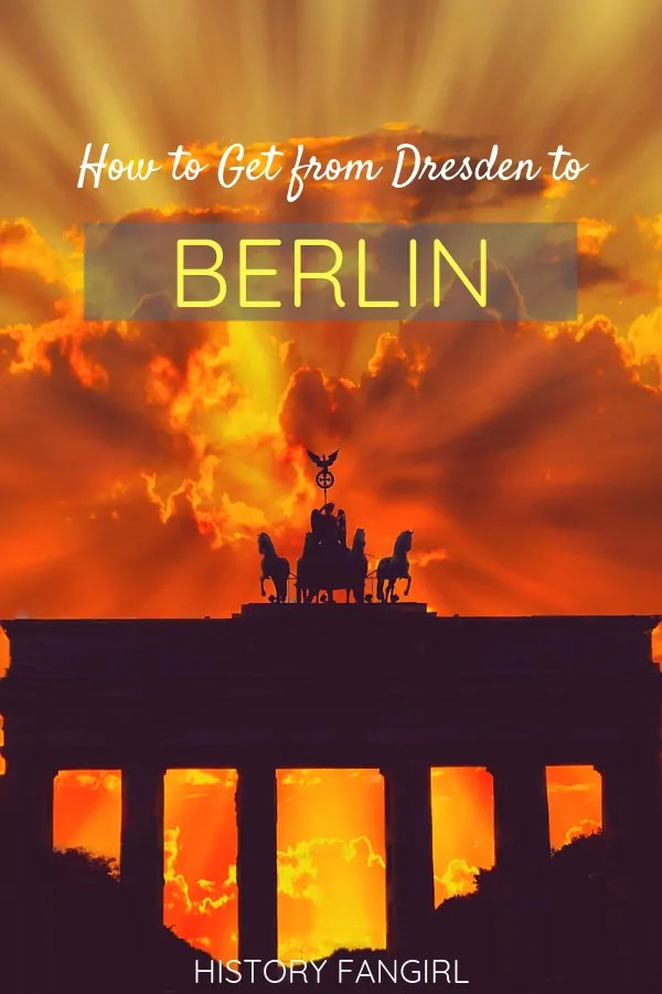 How to Get from Dresden to Berlin