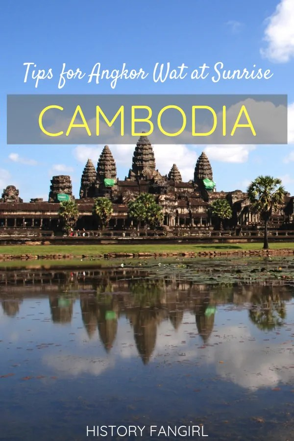 Tips for Visiting Angkor Wat at Sunrise