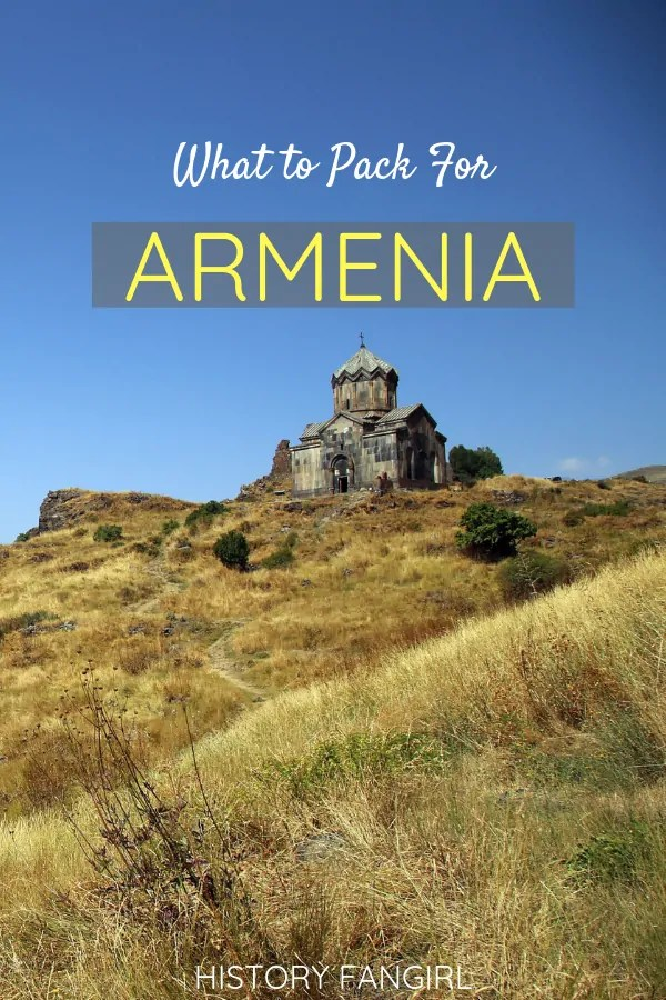 What to Pack For Armenia