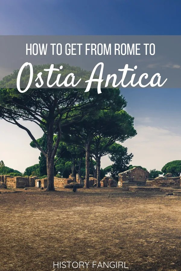 How to Get from Rome to Ostia Antica