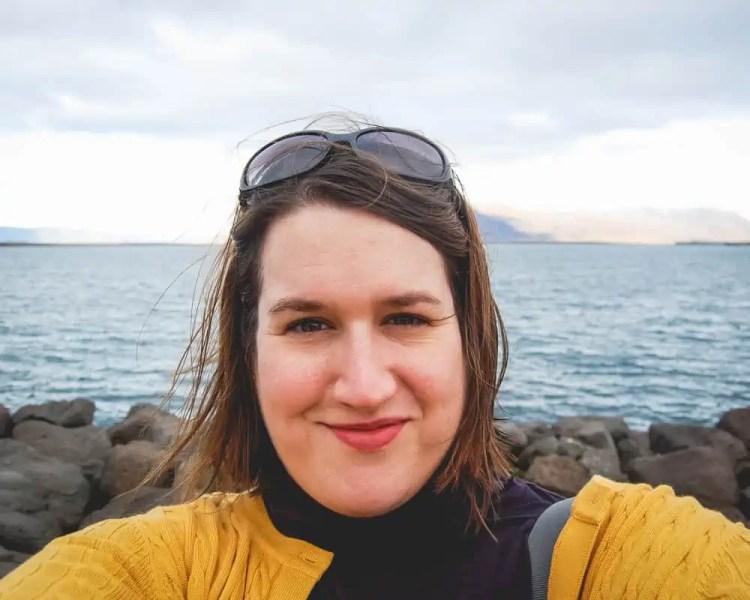 Iceland - Reykjavik - Stephanie Selfie