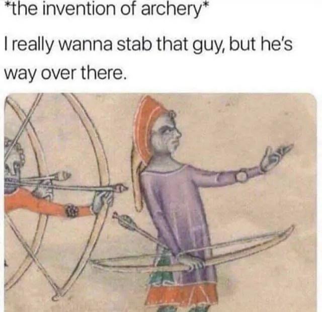 Archery Meme