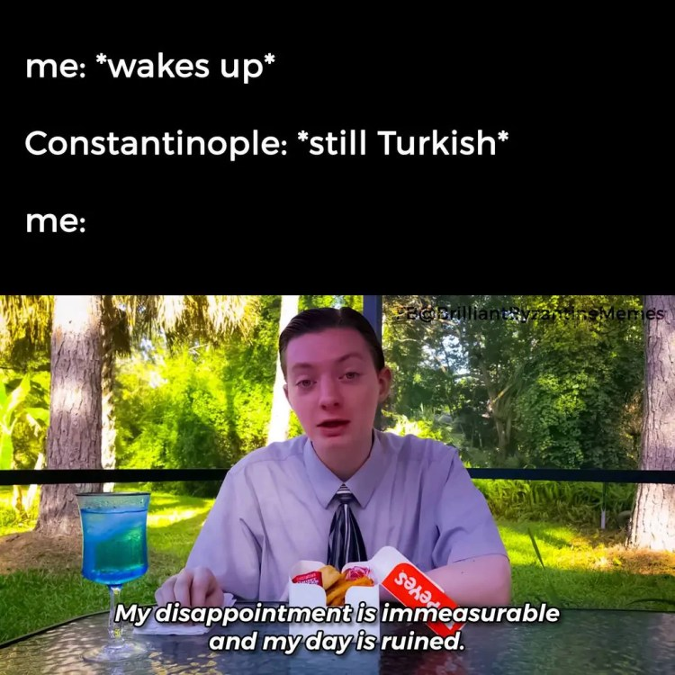 Byzantine History Meme