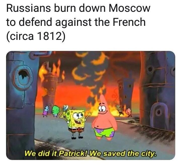 Spongebob History Meme