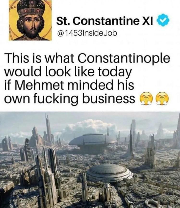 Byzantine History Constantinople Memes