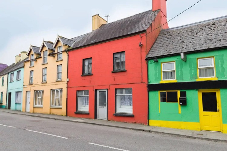 Ireland - Kenmare - Colorful Houses shutterstock_1170490327 copy-2