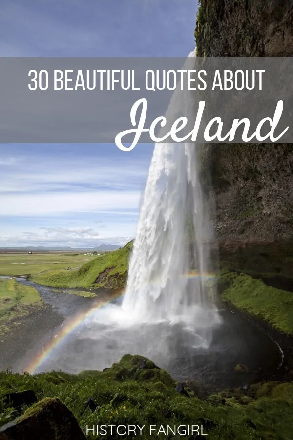 Quotes about Iceland