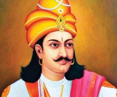 Father of Bindusara Maurya.