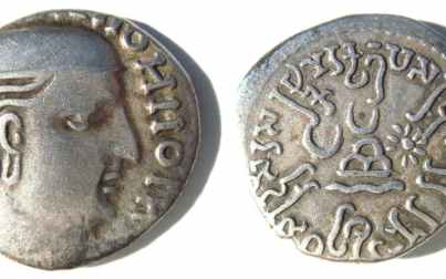 Indo-Greek coins helped research to decipher the historical scripts