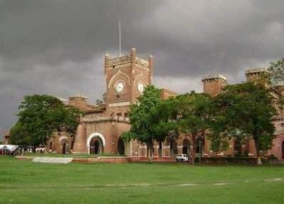Ewing Christian College of Allahabad where Dr. Panchanan Maheshwari got his early education