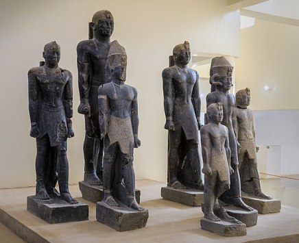 The history of ancient Egypt happened as a series of stable kingdoms, divided by periods of relative instability known as Intermediate Periods