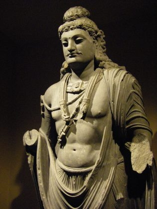 Samprati was an emperor of the Maurya dynasty. He was the son of Ashoka's blind son, Kunala. He was a great patron of Jainism.