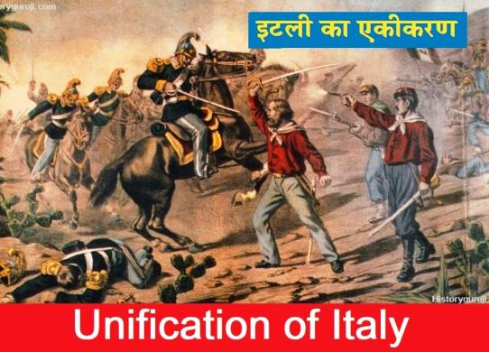 इटली का एकीकरण (Unification of Italy)