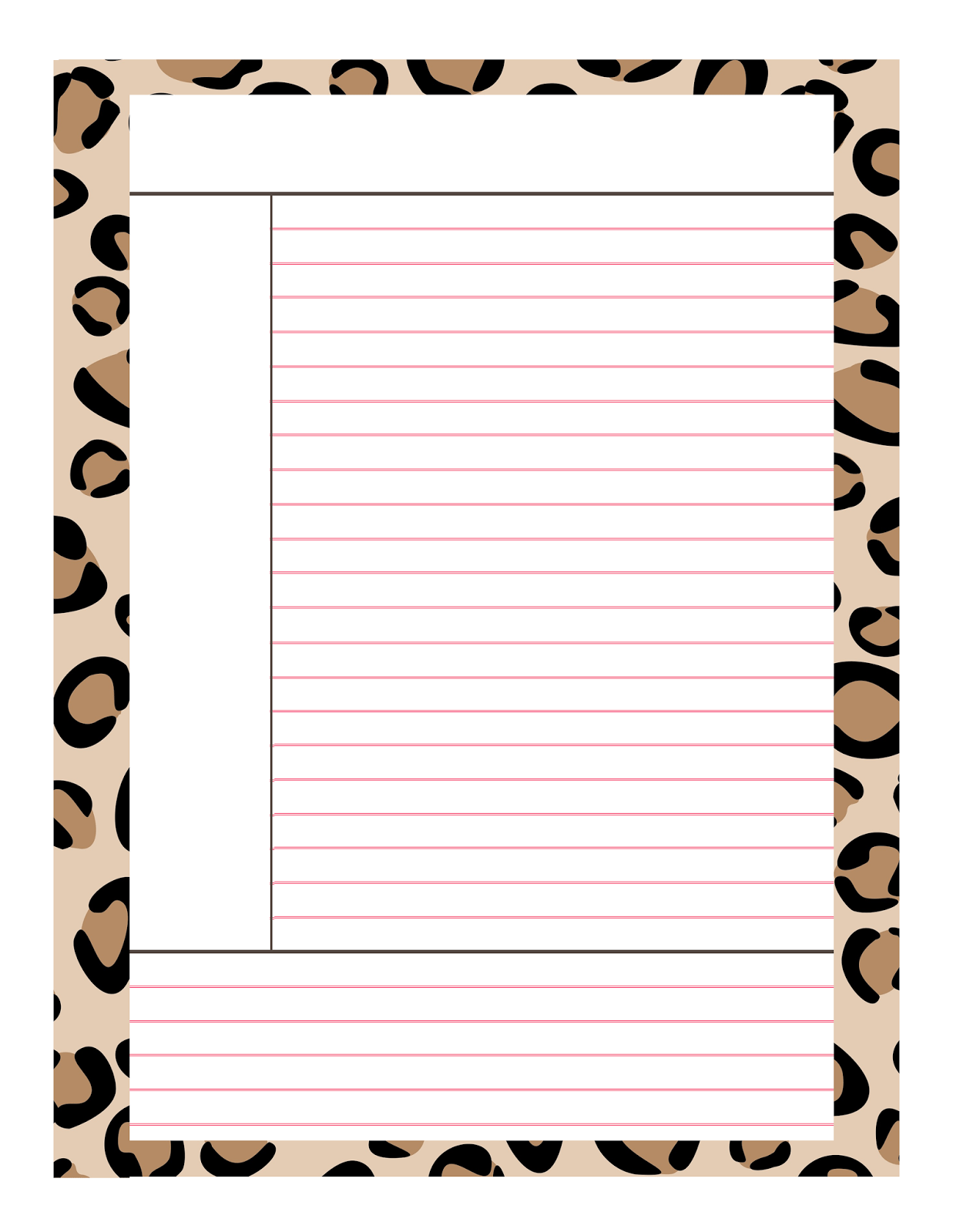 who says good notes cant be cute notes so here are some fun note taking templates just click save and print on a regular sheet of computer paper
