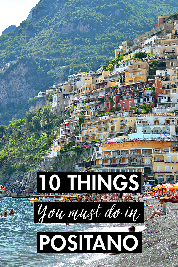 10 Things You Must Do In Positano