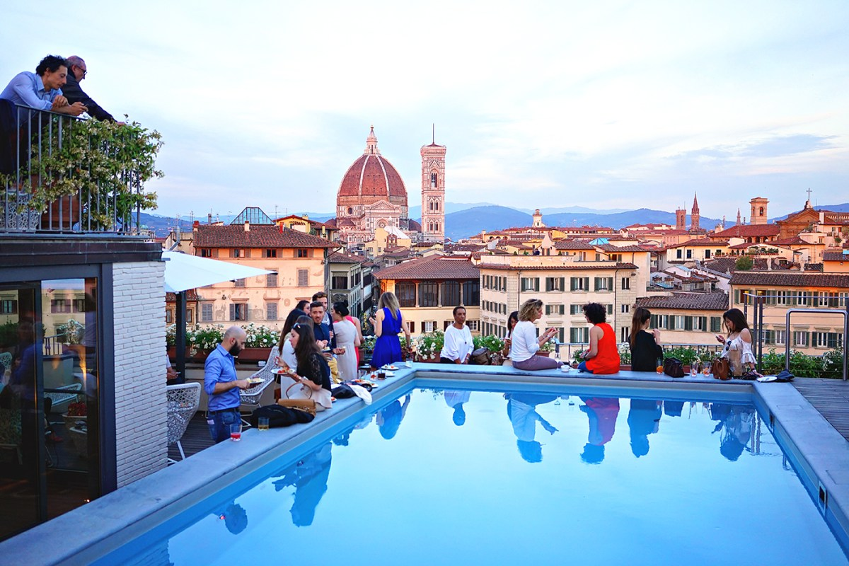 The Italian Aperitivo Best Rooftop Bars In Florence