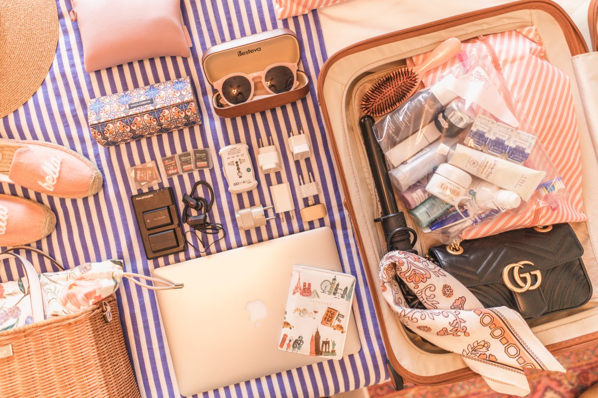How to pack for a long or overseas trip