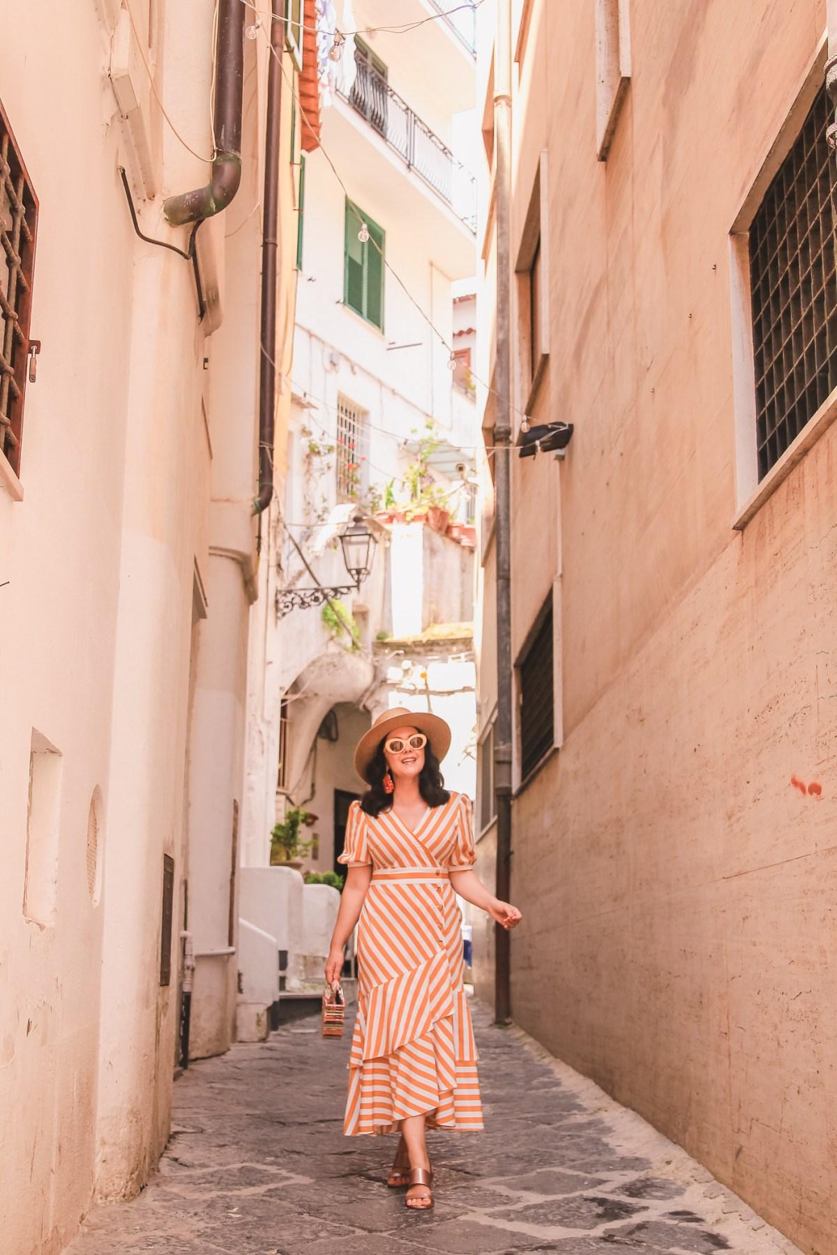 Stripes on Stripes in Amalfi